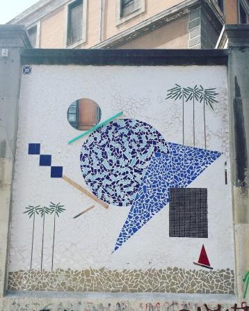 Street art: Antonyo Marest @ Lavapies, Madrid for Muros Tabacalera