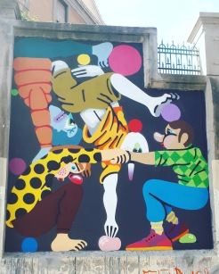 Street art: Nano4814 @ Lavapies, Madrid for Muros Tabacalera