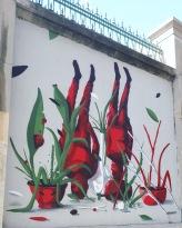 Street art: Lolo @ Lavapies, Madrid for Muros Tabacalera