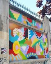 Street art: Zosen @ Lavapies, Madrid for Muros Tabacalera