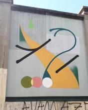 Street art: J:.M. YES @ Lavapies, Madrid for Muros Tabacalera