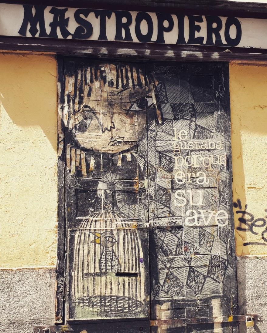 Street art @ Malasana, Madrid