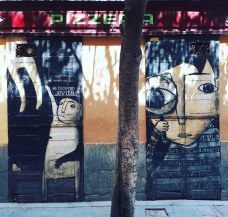 Street art @ Malasana, Madrid