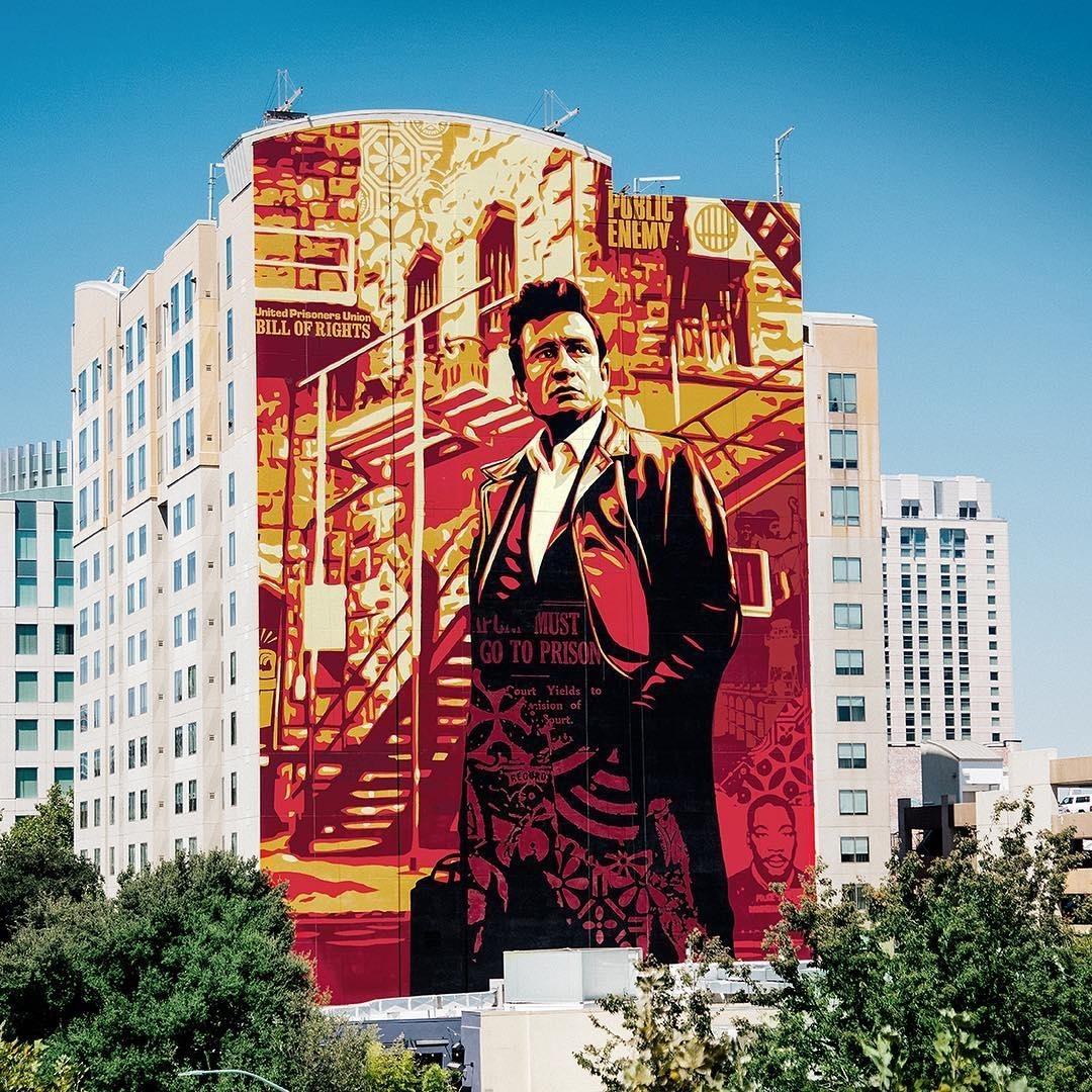 Obey Giant @Sacramento, USA