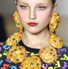 Orecchini-collana cookie