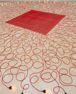 """Undercurrent"" by Mona Hatoum"