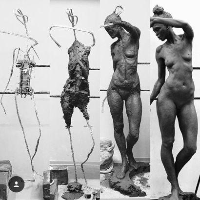 Sculpture work by Eirik Arnesen