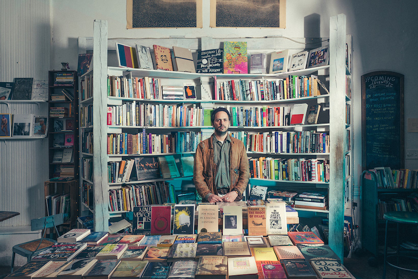 Matt Winn at Molasses Books, Bushwick, Brooklyn, 2017