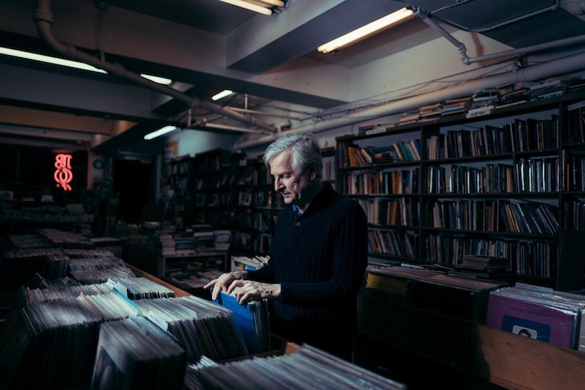 Wayne Conti at Mercer Books, Greenwich Village, Manhattan, 2017