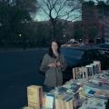 Jennifer Fischer, Street Bookseller, St. Marks Place, East Village, Manhattan, 2017