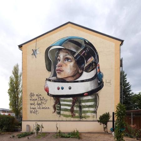 Herakut @Wittenberg, Germany