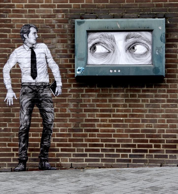 """""""1984"""" by Levalet @Heerlen, Netherlands"""