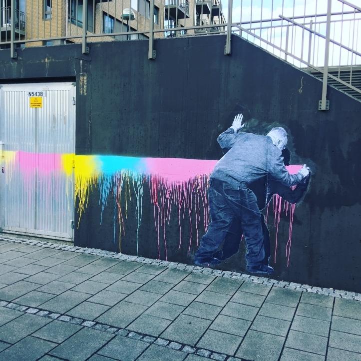 """""""Love is in the air"""" by Murmure @ Stavanger, Norway"""