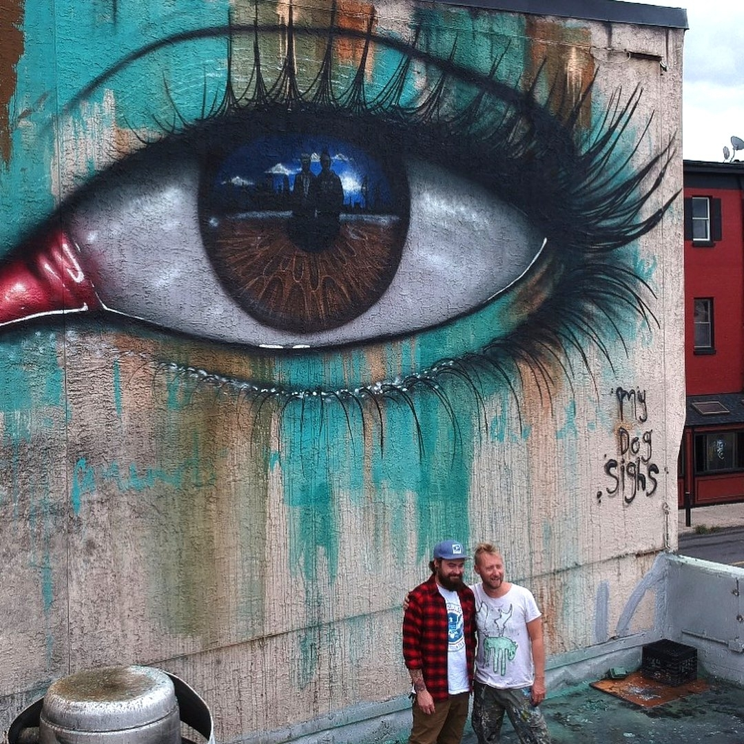 My Dog Sighs @Philadelphia, Pennsylvania, USA