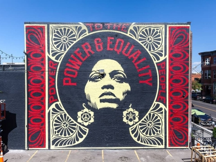 Obey Giant @Denver, USA