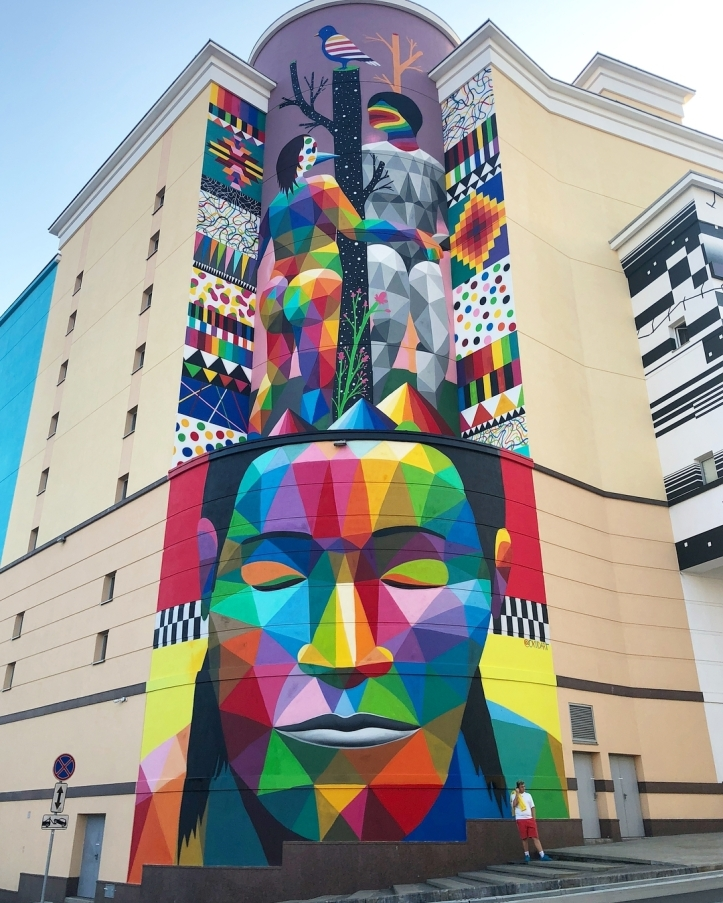 Okudart @Moscow, Russia