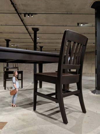 Robert Therrien, No Title (Table and Four Chairs) 2003