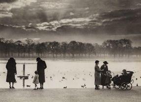 Una vista di Hyde Park, 1938