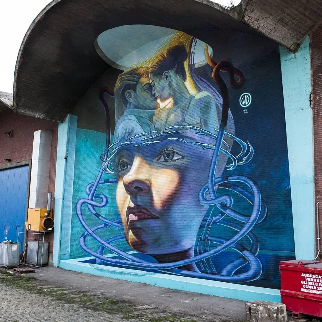 WD Drawing @Antwerp, Belgium