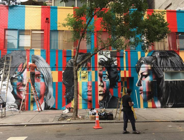 27 Club by Eduardo Kobra @ New York, USA - Photo by Michael A. MacKenzie (@mamckenzy)