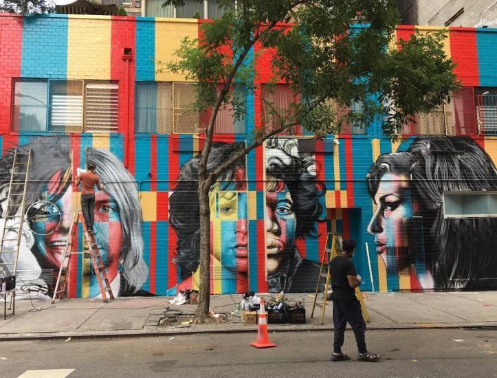 27 Club by Eduardo Kobra @ New York, USA - Photo by Michael A. MacKenzie (@mamckenzy)