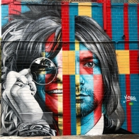 27 Club by Eduardo Kobra @ New York, USA - Photo by SPRAYHUNTER (@sprayhunter)