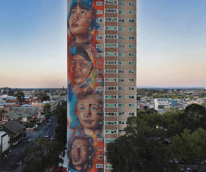 Adnate @Collingwood, Melbourne, Australia