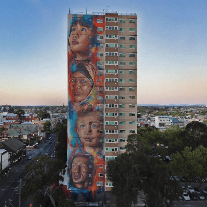 Adnate @Collingwood, Melbourne, Australia