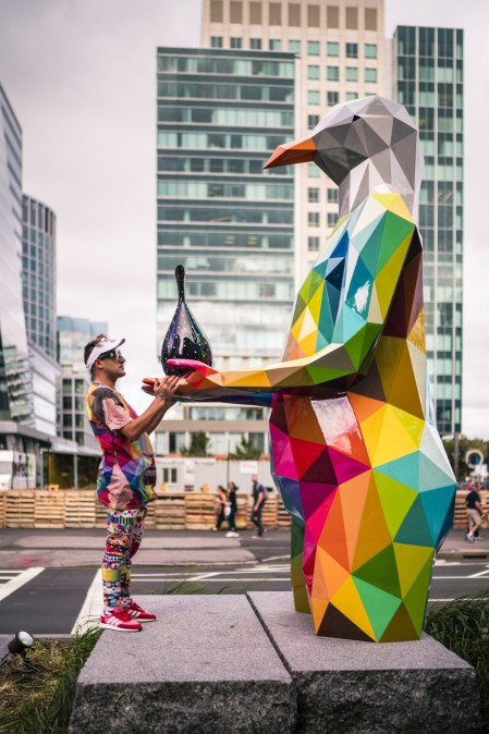Air Sea Land by Okudart @ Boston, USA