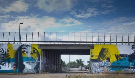 Chekos art @Galatina, Italy
