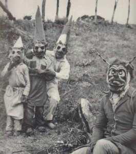 Halloween agli inizi del 1900