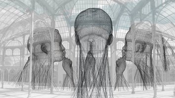 Jaume Plensa, Invisible, 2018 opening on the 15th of November 2018 in Madrid at Palácio de Cristal
