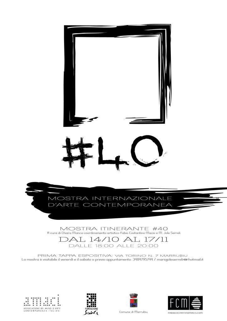 #40 - Mostra Internazionale d'arte contemporanea