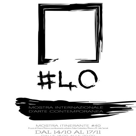 #40 – Mostra Internazionale d'arte contemporanea