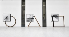 Body scale, circle triangle square (1977) by Masaki Nakayama