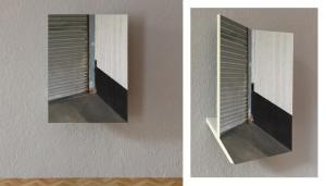 Mikael Christian Strøbek - Corner (Photographs mounted on plaster-board), 2015