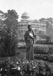 Museum number PHY.07788 T. S. Satyan, Indira Gandhi, Undated, H. 27.5 cm, W. 19 cm, Silver gelatin print