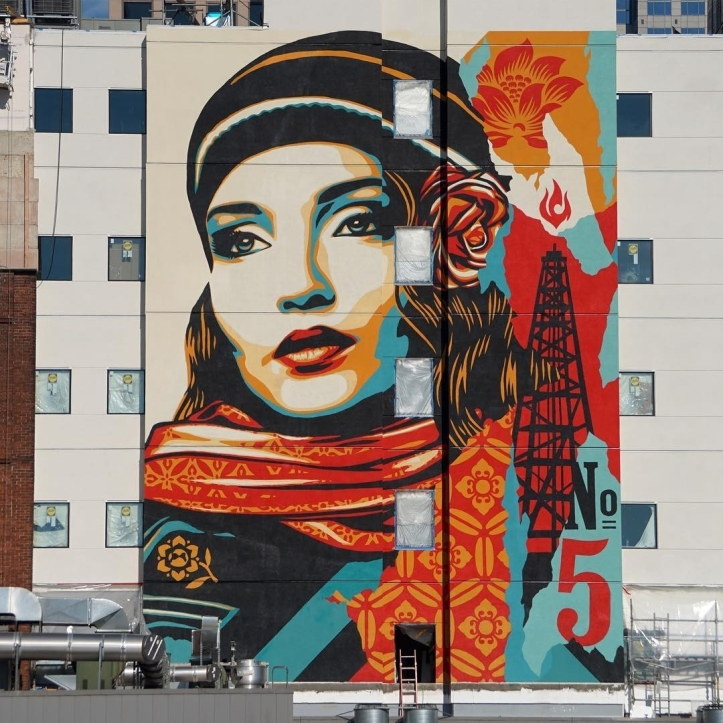 Obey Giant @Seattle, USA