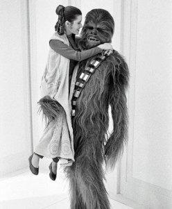 Principessa Leila e Chewbacca, Star Wars