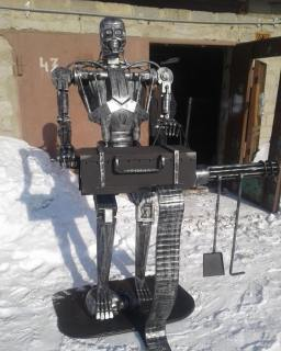 Robot barbecue