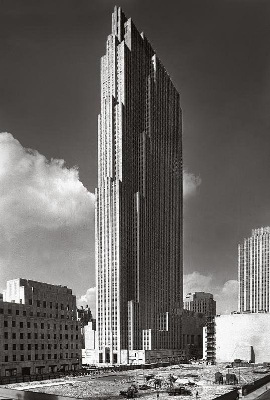 Rockefeller Center New York City September 1, 1933