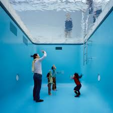 """Swimming Pool"" by Leandro Erlich @ 21st Century Museum of Contemporary Art, Kanazawa, Japan"