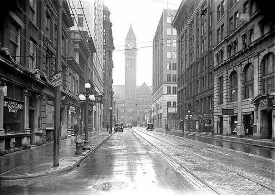 Toronto, Ontario Canada, Bay street 1930