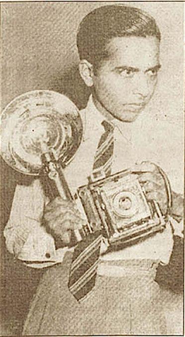 TS Satyan nel 1948