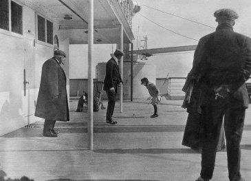 Una delle ultime foto scattate sul Titanic