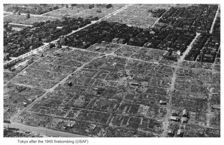24 novembre 1944 - Bombardamento di Tokyo, viene effettuato il primo bombardamento contro la capitale giapponese