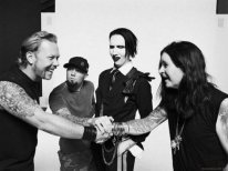 James Hetfield, Fred Durst, Marilyn Manson e Ozzy Osbourne