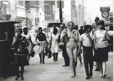 Vesti per il lavoro che desideri. New York, 1968