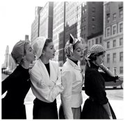 Anni '50, modelle a NYC