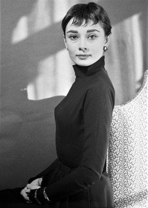 Audrey Hepburn fotografata da Cecil Beaton, 1954